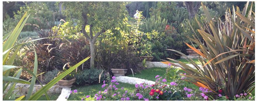 Progettazione giardini Sanremo, Bordighera, Costa Azzurra
