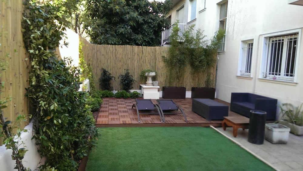 Progettazione e realizzazione di un piccolo giardino privato a nizza ercole progettazione - Progetto giardino privato ...