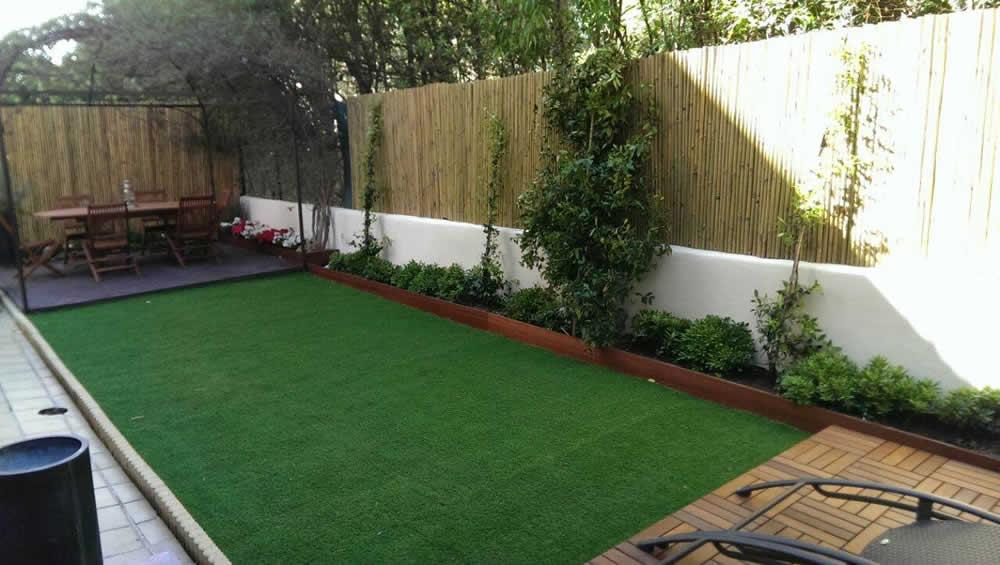 Progettazione e realizzazione di un piccolo giardino privato a Nizza ...